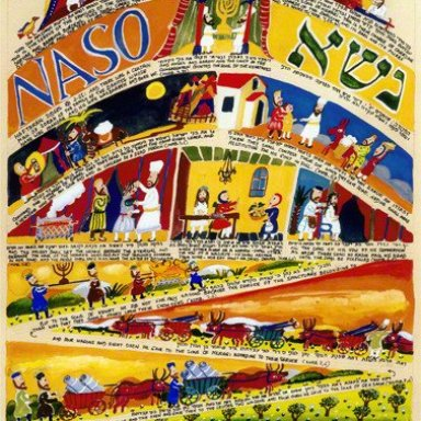 T35 - Naso - Numbers 4:21 - 7:89